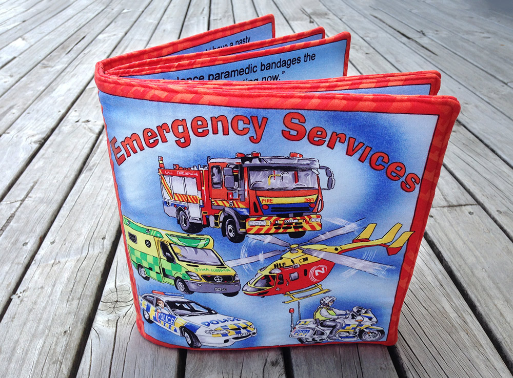 Emergency services fabric book