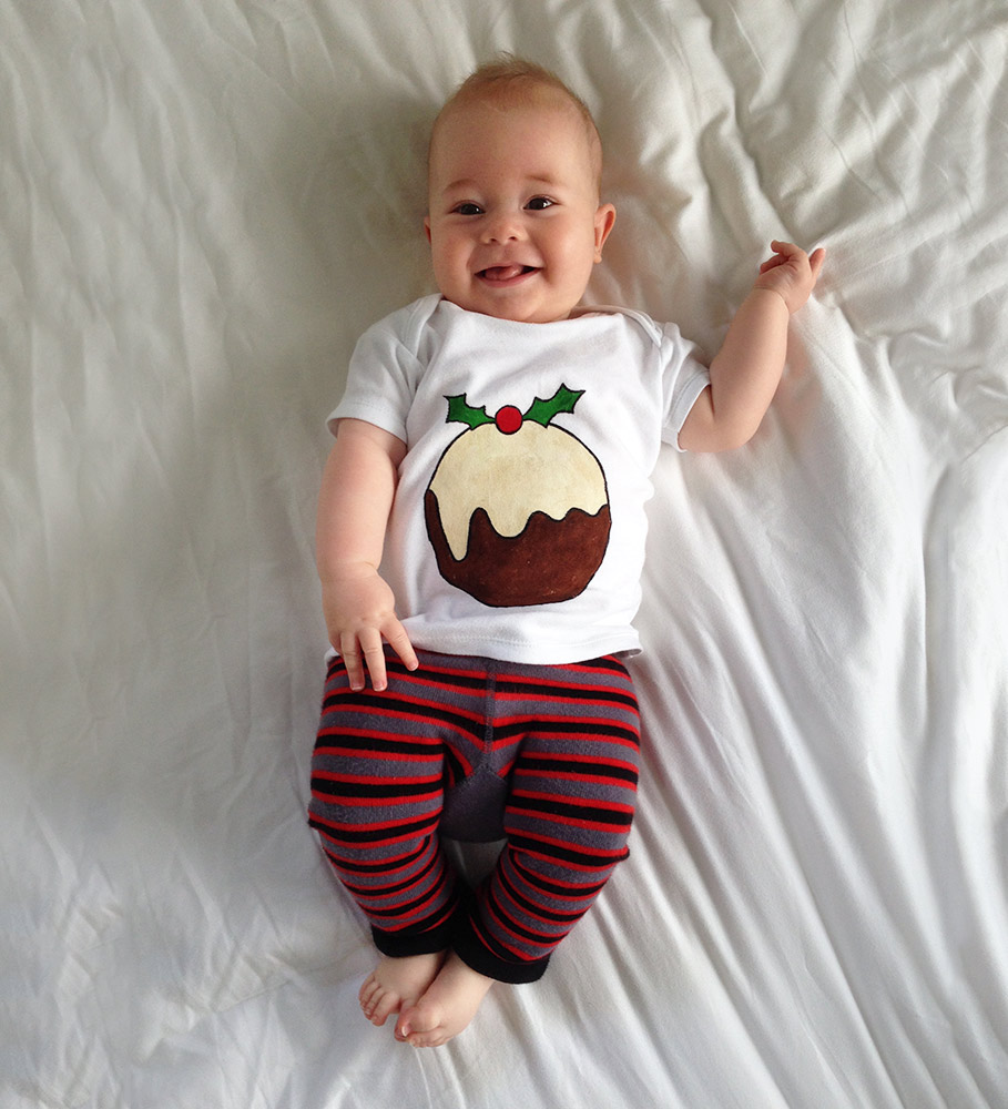 Adorable wee xmas pudding