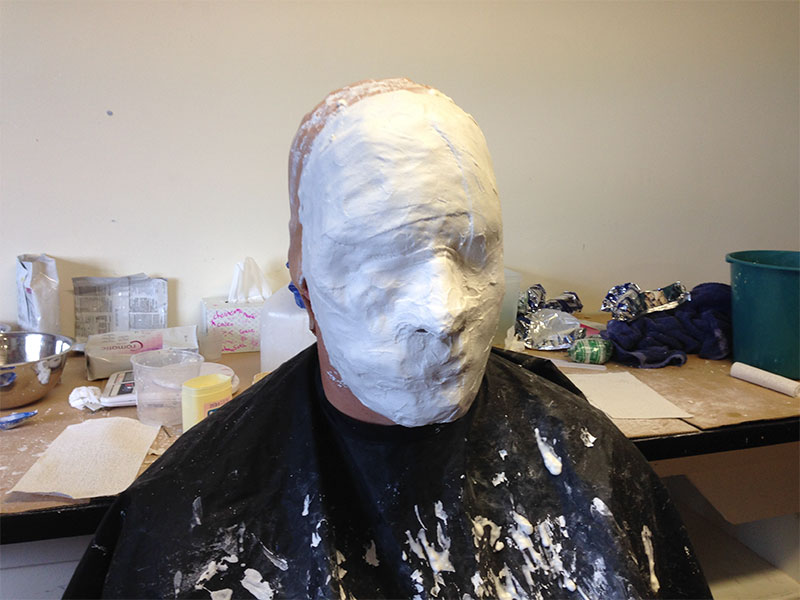 Plaster mask