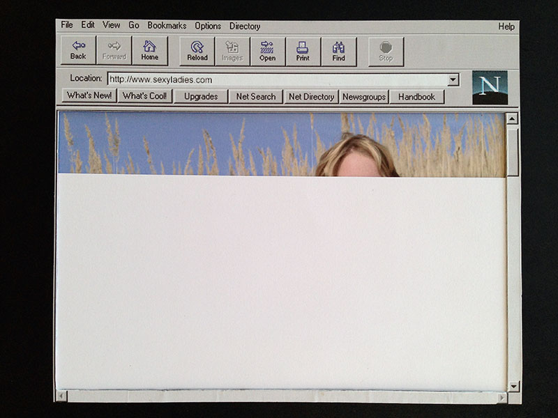 Netscape and image download re-creation