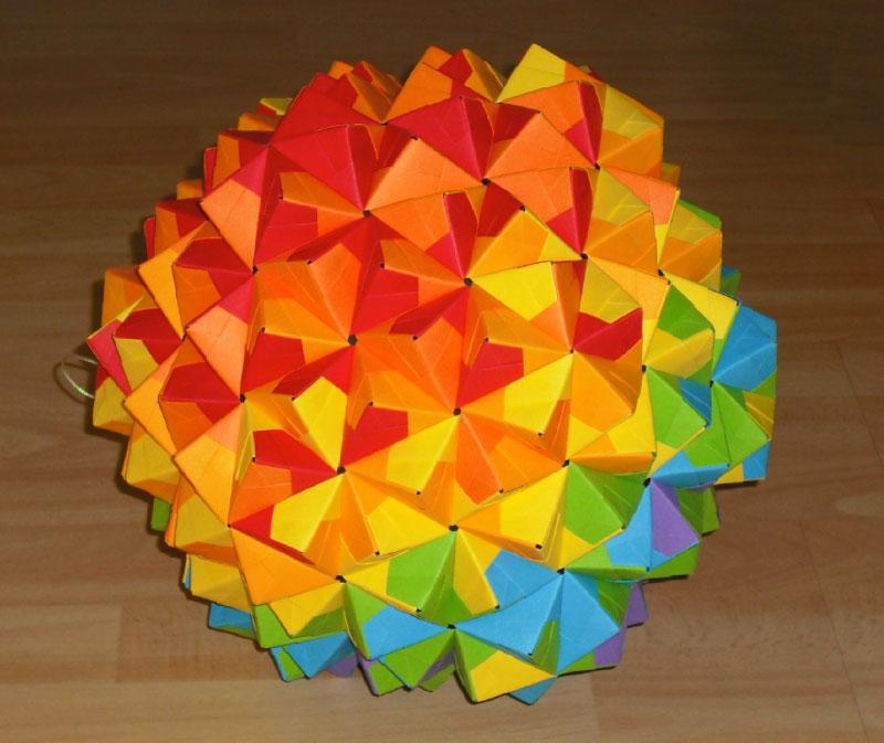 Origami epcot ball