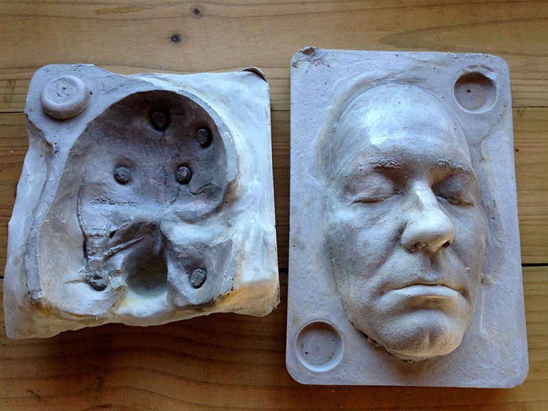 Two piece mould